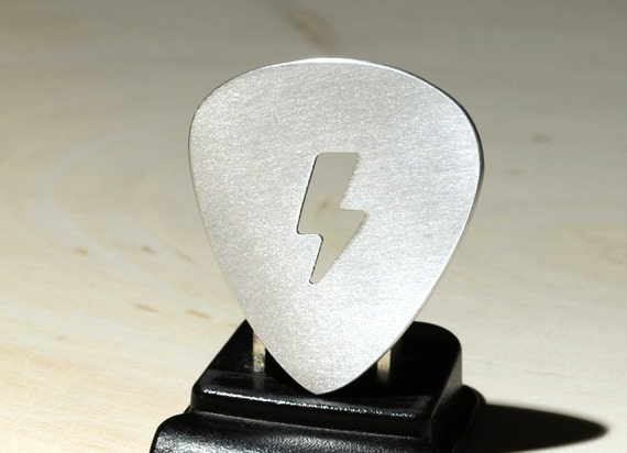 Lightening Bolt Guitar Pick Handmade to Electrify and Charge Your Music with Pure Energy - GP888