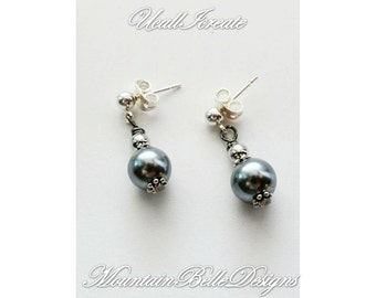 Silver Lining Earrings (Elizabethan Edition)/Handmade by Me/Gifts for Her