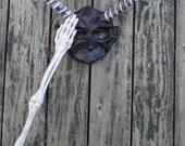 The Goblin King Paper Mache Mask