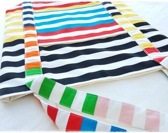 Mac-Pack Canvas Tote Bag - Shopping Bag - Large Tote Bag - Canvas Beach Bag - Handmade Cotton Canvas Tote Bag - Ikea Gitmaj