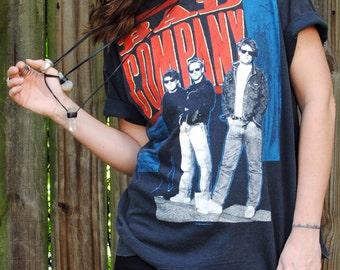 Vintage 1988 Bad Company Dangerous Age Tour Shirt- Size Extra Large