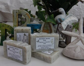 Patchouli & Chamomile Soap