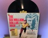 Rare Vinyl Record The Six Million Dollar Man Vol. 2 LP 1976 Lee Majors TV Classic Stories