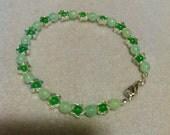 Stars of Green Bracelet