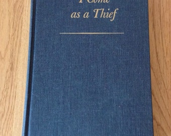 Vintage copy  of I Came as a Thief by Auchincloss