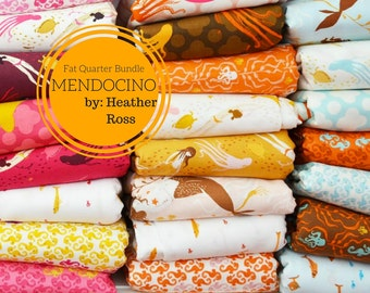 Mendocino Fat Quarter Bundle  by Heather Ross for Windham - Full Collection 23 FQs