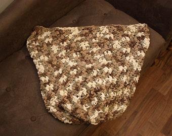 Crochet Car Seat Blanket - Ready To Ship - DESTASH SALE