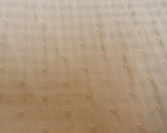 CREAM DOT SATIN Upholstery Fabric, 25-40-01-124