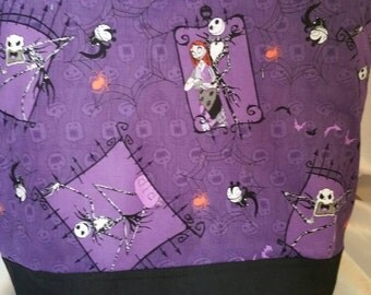 Nightmare before Christmas Insulated Zip-up Lunch bag
