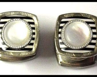 Original Art Deco Snap Link Cuff Links Free Shipping