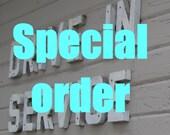 SPECIAL ORDER for cj herman