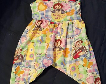 Custom Made Raggedy Ann and Andy Sundress