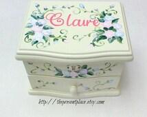 personalized musical jewelry box,pink,blue,lavender,girls jewelry box,musical ballerina jewelry box,personalized gift