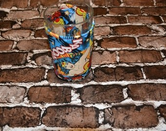 Wonder Woman Glass/Large Can Cozy