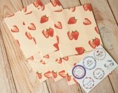 Strawberry Summer Fruits Paper Bags