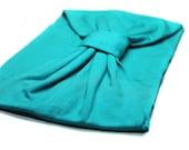 Turban Headwrap Turquoise Fashion Turban Hair Headscarf Housewife Turban Jersey Knit Turband Headband Turquoise Blue (#1508) S M