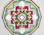 Secret Garden, 12-sided, 18  inches, in stock by Inga