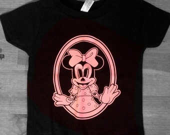 Minnie Muerta Toddler Tee