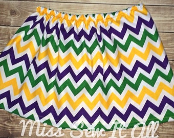 Mardi Gras Skirt
