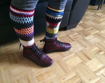 Easy Crochet Socks Pattern PDF, Ragga Socks, instant digital download, Easy Pattern, The Ragga Collection