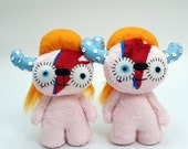 RESERVED LISTING!!!!! Two David Bowie monsters- reserved for Helen