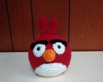 Crochet Red Angry Bird