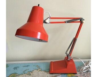 Ledu Orange Desk Lamp - made in Sweden