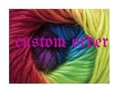 Custom Order for Carolyn Crochet  Light Blue Duck