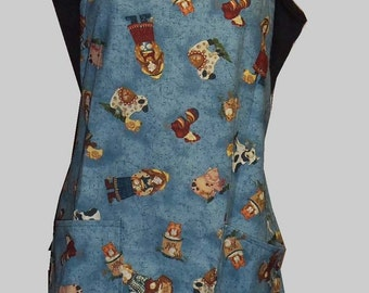 Hand made Down on the Farm BBQ Style Apron