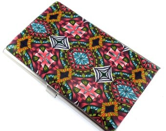 Colorful Polymer Clay Business Card  Case