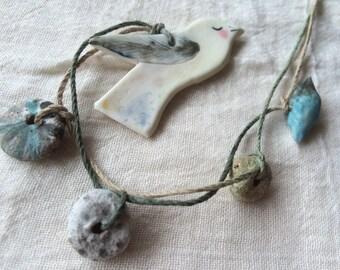 Bird necklace 12