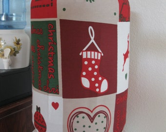 Holiday Bottle Cover- Water bottle Cover for 5 Gallon Standard Size