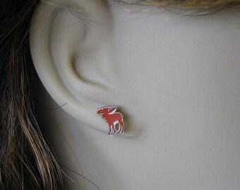Moose Silhouette Earrings