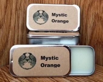 Mystic Orange Moonstone Solid Perfume Balm