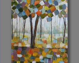 Original Acrylic  Painting, Acrylic Painting, Abstract Painting, Tree Painting,Contemporary Painting, Modern Painting