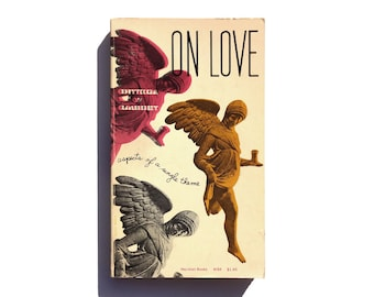 "Elaine Lustig Cohen paperback book cover design, 1957. ""On Love: Aspects of a Single Theme"" by José Ortega y Gassett"
