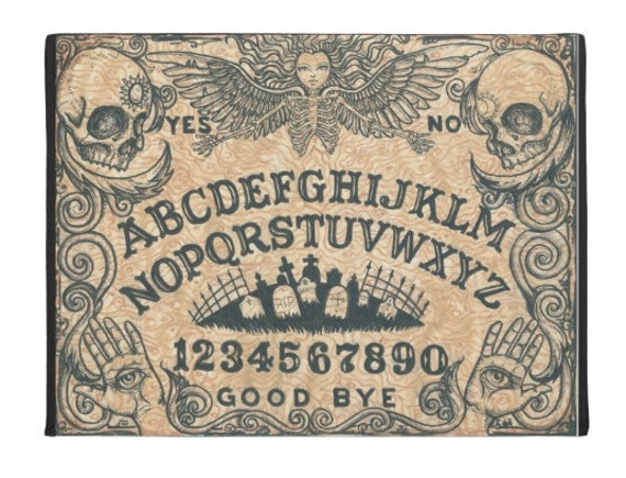 Ouija Board Death Angel door mat