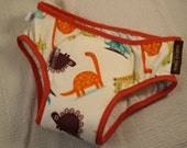 PREMIUM - NEW COLOR Toddler Boy's Training Underwear with Waterproof Pad - Dinosaurs - Jurassic 3126