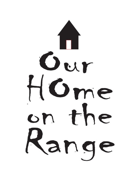 Wall Decor The Range : Our home on the range wall decor by trulyveradesigns