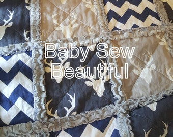 Custom Rag Quilt for baby toddler child full queen king sizes You Design Can be Personalized
