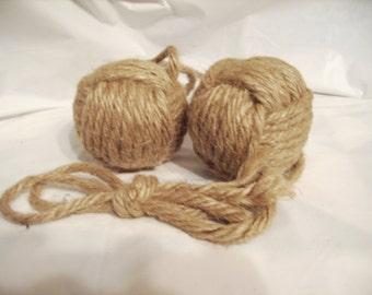 """Nautical 3"""" Monkey Fist Knot"""