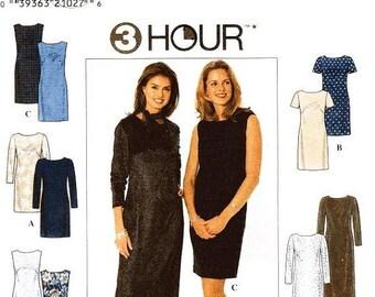 ON SALE Simplicity Dress Pattern 7901 - Misses' Dress in Five Variations - Uncut - Sz 6/8/10