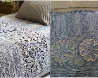 Crochet Magnolia Afghan