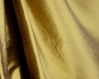 Silk Fabric REMNANT 7 Yards Bronze