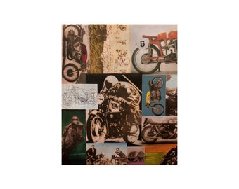 Racer Rex Fabric - Alexander Henry Scenic 1 Yard Fabric