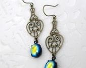 Art Deco Earrings for Girlfriend Victorian Earrings Vintage Antique Jewelry for Wife Art Deco Jewelry Girlfriend Gift Valentines Earrings
