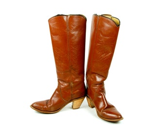 Tall FRYE Boots With Heel - FRYE  American Classics Label, Women's Size 9 B