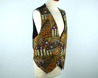 Highly Detailed Beaded Vest