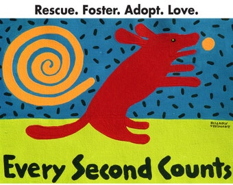 TEE, Every Second Counts, Red Dog copyright Hillary Vermont