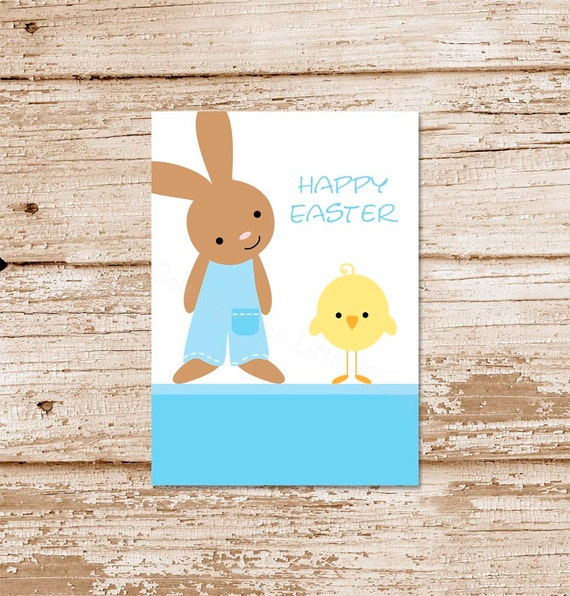 Printable easter tags favor tags gift tags stickers labels boy il570xn negle Gallery